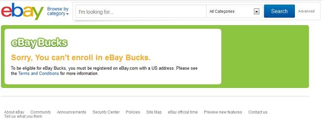 eBau Bucks登録失敗画面